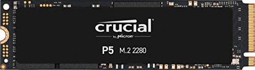 SSD interno Crucial P5 de 500 GB CT500P5SSD8 - Hasta 3400 MB / s (3D NAND, NVMe, PCIe, M.2, 2280SS)